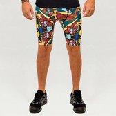 Heren – sportbroek – hardloopbroek – running shorts – Design ParizOne – Maat XL