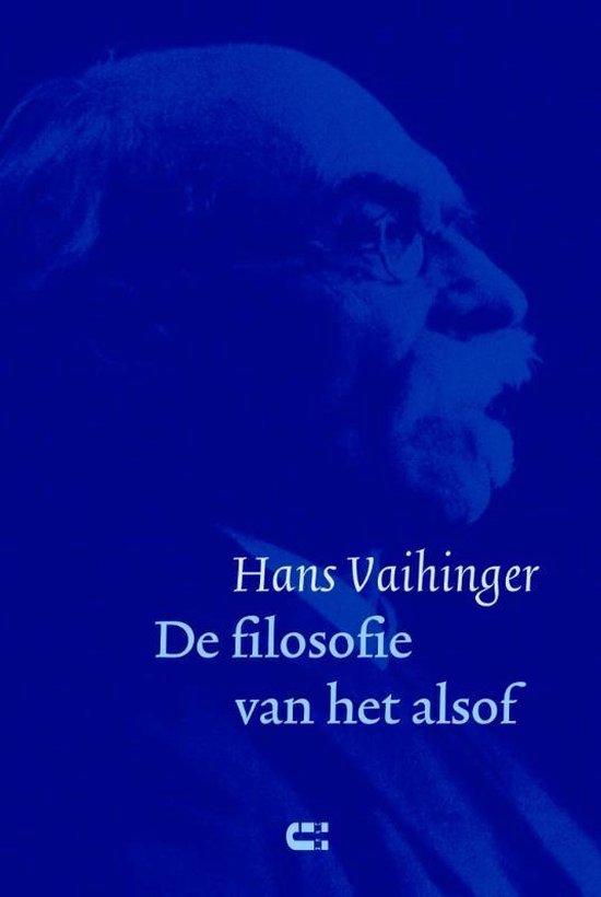 De filosofie van het alsof - Hans Vaihinger pdf epub
