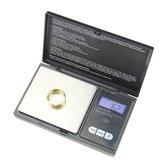 Professionele Digitale Mini Pocket Keuken Precisie Weegschaal Op Batterij - 0.01 Tot 200 Gram Nauwkeurig