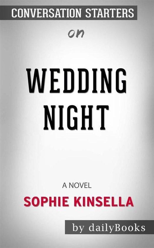 Omslag van Wedding Night: A Novel by Sophie Kinsella | Conversation Starters