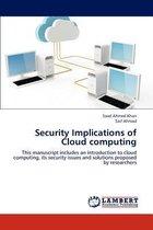 Security Implications of Cloud Computing