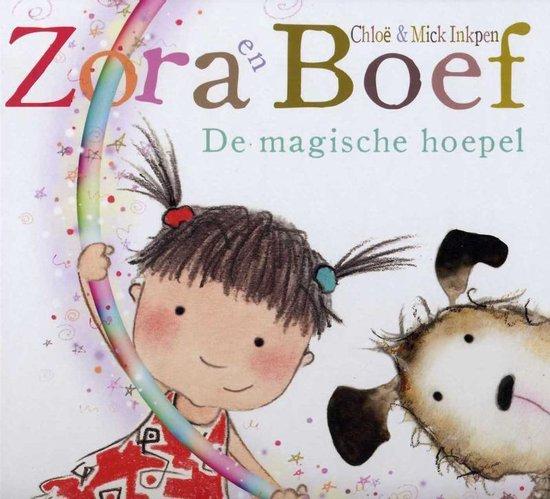 Cover van het boek 'De magische hoepel' van Chloe Inkpen