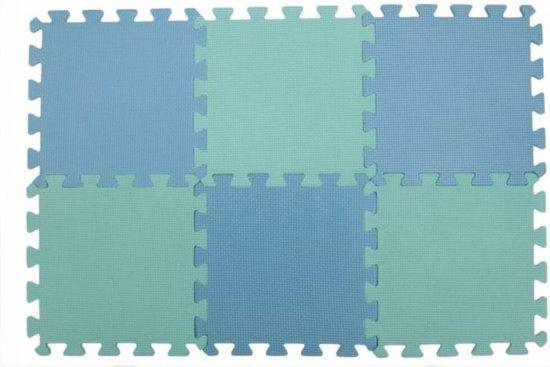 KnitPro Lace blocking / blok matten - 9 stuks van 30x30x1cm
