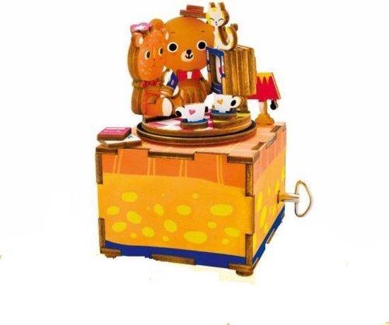 Robotime Muziekdoos 3D Houten Puzzel, Love Story