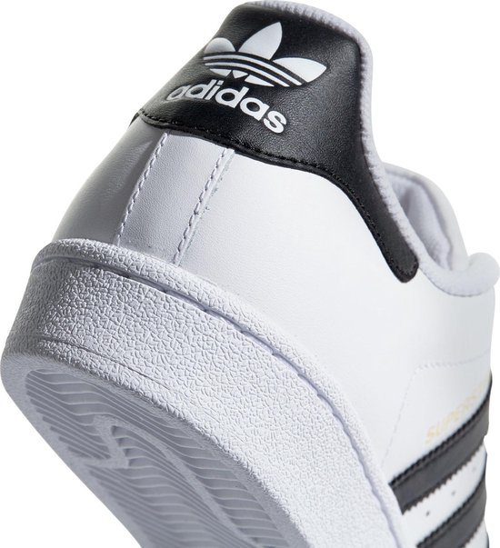 adidas Superstar Heren Sneakers - Ftwr White/Core Black - Maat 44 2/3