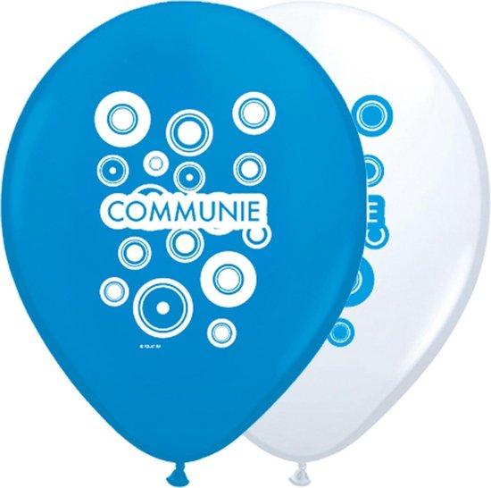 Folatex ballon Helium 12 inch/30cm Communie Jongen