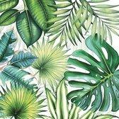 Papieren Servetten - Planten 33 x 33 cm