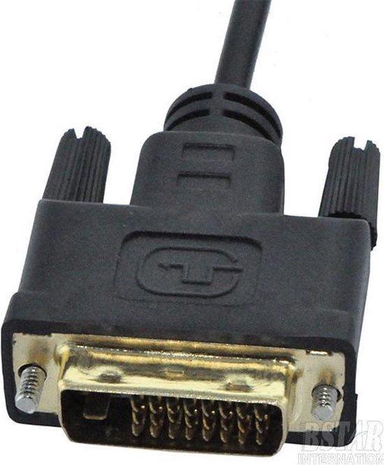 HDMI naar DVI  Kabel / Adapter / Converter / Omvormer - 2 Meter