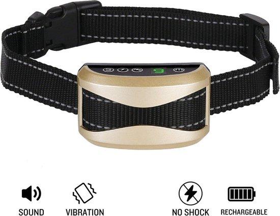 Furline - Anti-blafband zonder elektrische schok - Met trillingen en geluid - Trainingshalsband