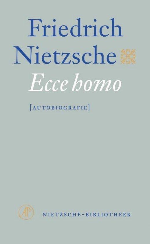 Boek cover Ecce homo van Friedrich Nietzsche (Onbekend)