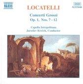 Locatelli: Concerti Grossi Op 1 no 7-12 / Jaroslav Krecek