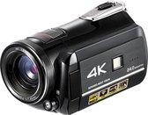 Lipa AD-C1 4K Ultra HD Sony CMOS sensor Wifi / 4K resolutie / 24 megapixels / Nachtvisie, Led lamp en 30x zoom / Aansluiting externe microfoon en statief / Phone remote met wifi