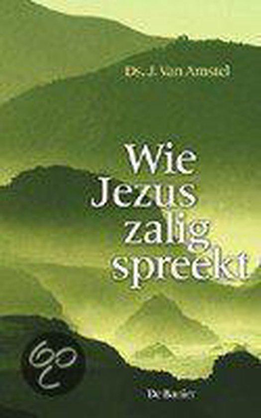 Amstel, Wie Jezus zalig spreekt - J. van Amstel |