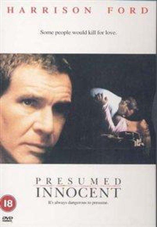 Cover van de film 'Presumed Innocent'