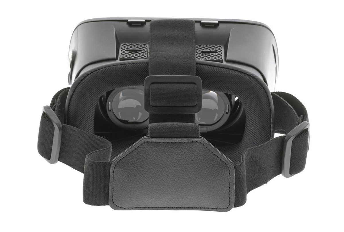 K\\xf6nig CSVR100 Virtual Reality-Bril Zwart