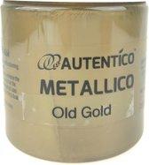 Autentico Metallico 250 ml, kleur Old Gold