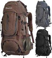 Beefree  Backpack - Rugzak - 70 Liter - Inclusief regenhoes - Bruin