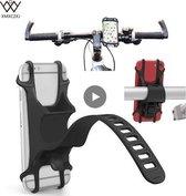 Universele Fiets of Motor Smartphone Houder (Fiets / Buggy / Winkelkar/Motor)  (SmartPhone houder)