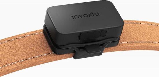 Invoxia - Huisdier GPS Tracker - Zonder Simkaart - Tot 1 Maand Batterijduur - Hond - Kat - Poes - Track & Trace Volgsysteem - Zwart