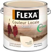 Flexa Couleur Locale Zijdeglans Watergedragen Kenia 2,5 L 2545 Nuance Camel