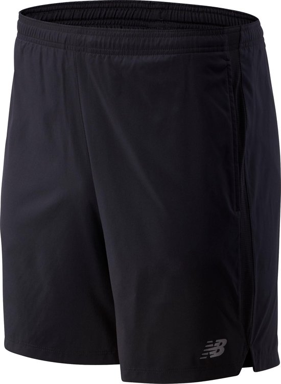 New Balance ACCELERATE 7IN SHORT Heren Sportbroek - Black - M