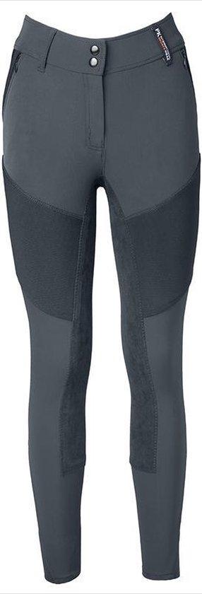 PK International - Just One Full Grip - Breeches - Stone Grey - Maat XL/42