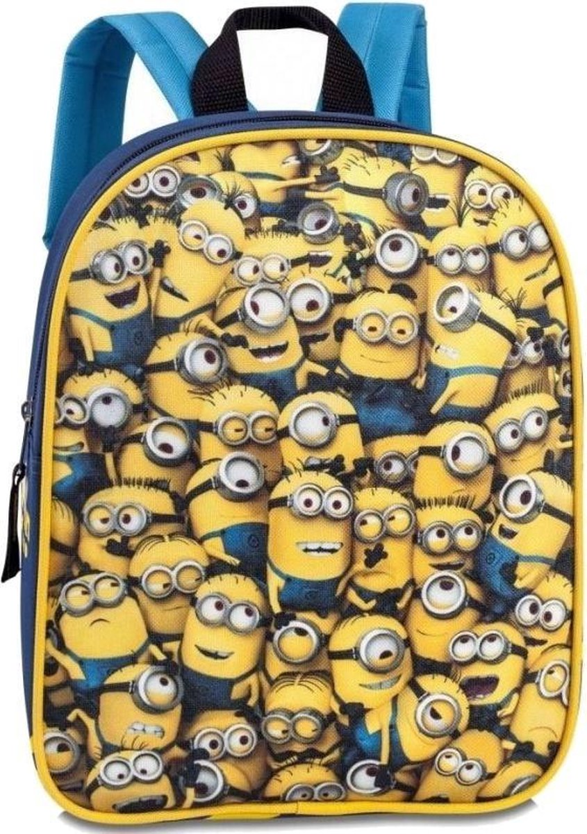 Despicable Me Minions Crowded - Rugzak - Kinderen - Geel - Babygoodies