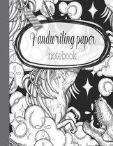 Handwriting paper notebook