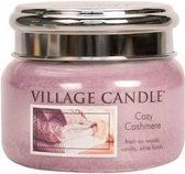 Village Candle Small Jar Geurkaars - Cozy Cashmere