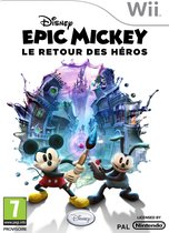 Nintendo Epic Mickey 2: The Power of Two, Wii video-game Basis Frans