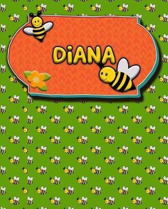 Handwriting Practice 120 Page Honey Bee Book Diana