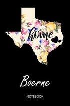 Home - Boerne - Notebook