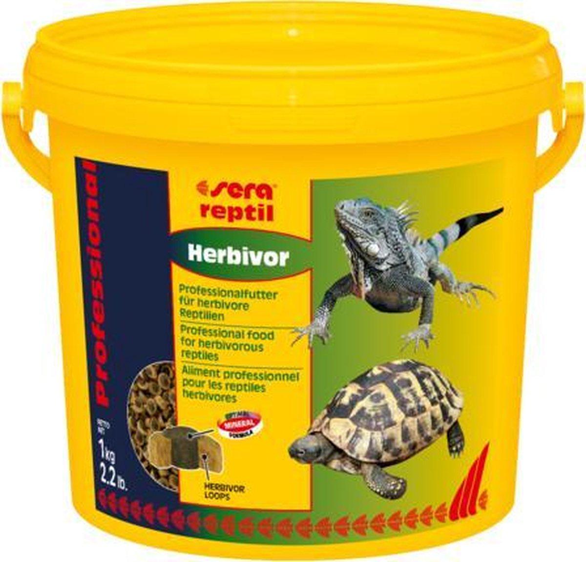 Sera Reptiel proffesional herbivor 3800ml schildpadvoer leguaan
