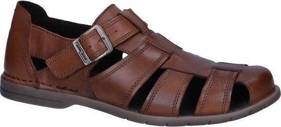 Camel Active -Heren -  cognac/caramel - sandaal gesloten - maat 42