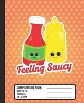 Feeling Saucy Composition Book