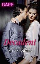 Boek cover Decadent van Alexx Andria