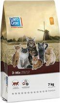 Carocroc Kat 3-Mix Adult - Gevogelte/Rund - Kattenvoer - 7 kg