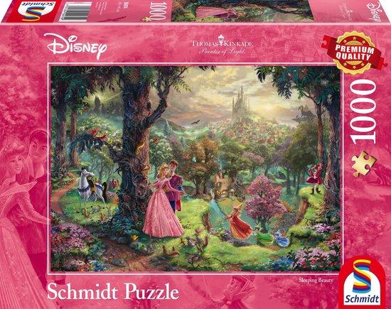 Schmidt Disney Princess - Sleeping Beauty/Doornroosje Puzzel - 1000 stukjes - Schmidt