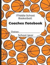 Middle School Basketball Coaches Notebook Dates