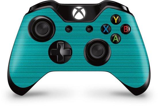 Xbox One Controller Skin Brushed LichtBlauw Sticker