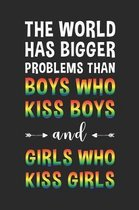 The world has bigger problems than boys who kiss boys and girls who kiss girls