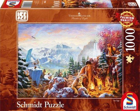 Schmidt - Ice Age Puzzel - 1000 stukjes - Schmidt