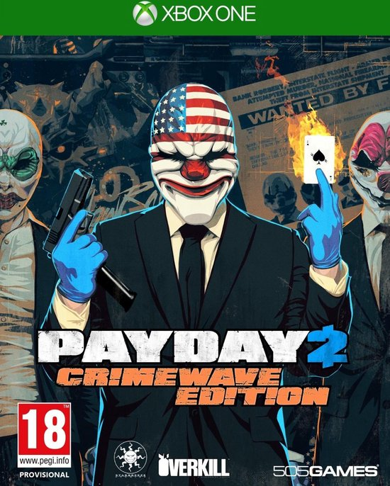 505 Games Payday 2: Crimewave Edition, Xbox One video-game Basis Engels
