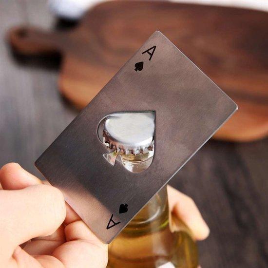 MikaMax - Ace of Spades Bottle Opener - RVS - MikaMax