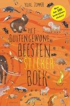 Boek cover Lemniscaat Kinderboeken stickers het buitengewone beesten stickerboek van Yuval Zommer