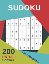 Sudoku 200 R tsel Schwer Mit L sungen