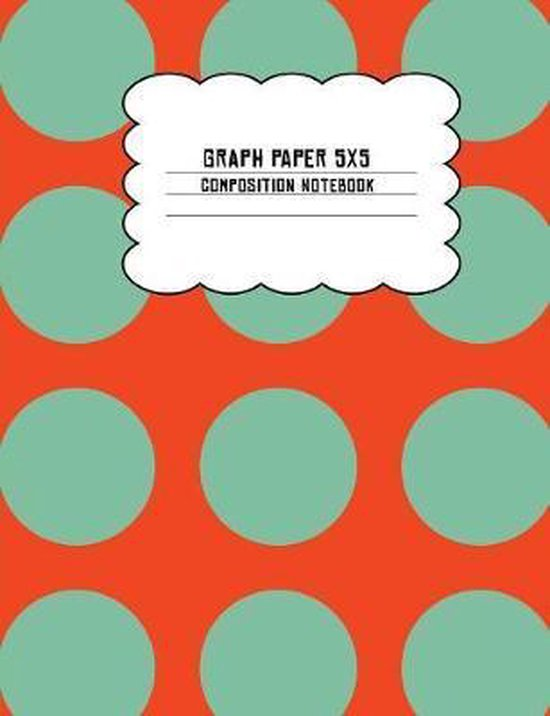 Graph Paper 5x5 Composition Notebook