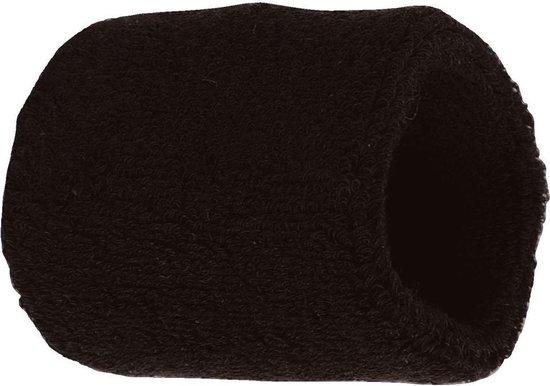 Benza Pols Zweetbandje - Zwart 6 cm - 1 stuks - Benza