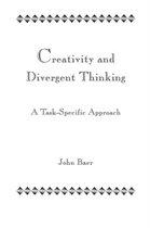 Boek cover Creativity and Divergent Thinking van John Baer
