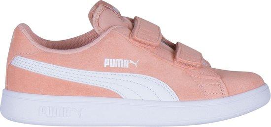 bol.com | Puma Smash v2 L V Sneakers - Maat 35 - Meisjes ...